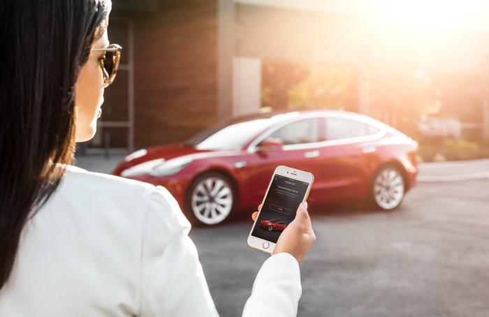 Tesla on Demand at 100 Shawmut
